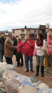 Meting local voters in McCall