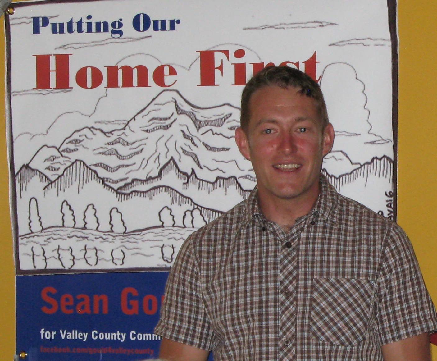 Sean Gould, Valley County Commissioner Candidate